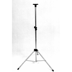 Adam Adjustable Speaker Stand, 100 lb. capacity - Black