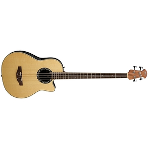 Applause AE140 Acoustic-Electric Bass Guitar - Natural