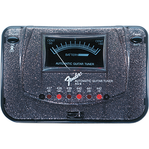 Fender® AG6 California Tone Tuner - Black Sparkle