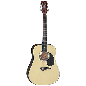 Dean Tradition Acoustic Dreadnought Guitar - Hardshell Case Included!
