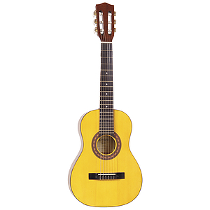 Amigo AM15 34-inch Children&#039;s Nylon String Acoustic Guitar - Natural