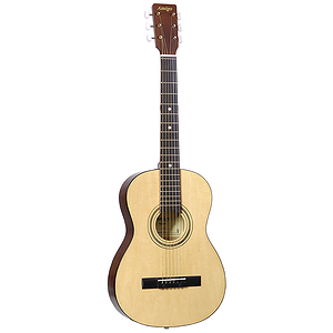 Amigo AM22 3/4-size Children&#039;s Steel String Acoustic Guitar - Natural