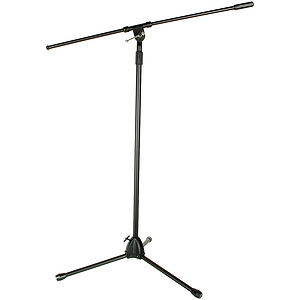 Adam Tripod Microphone Stand with Boom - Black