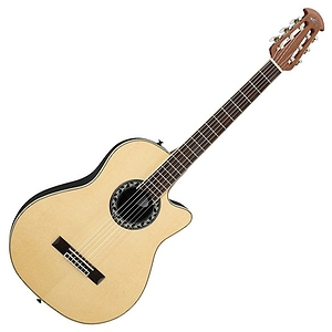 Applause AN13 Mini-Bowl 3/4 Size Nylon-String Classical Guitar - Natural