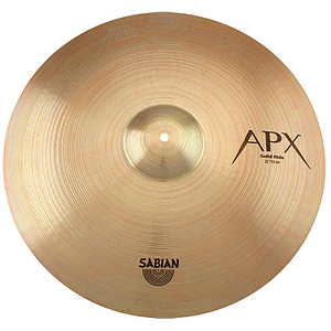 "Sabian 22"" APX Solid Ride Cymbal"