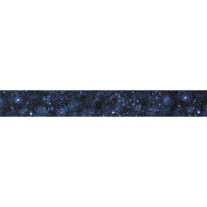 D'Andrea Guitar Strap - Starry Night