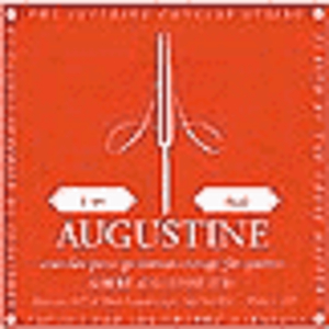 Augustine Classical Nylon Guitar Strings - Red, 3 Sets