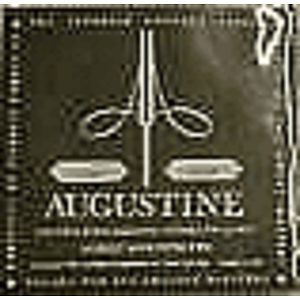 Augustine Classical Nylon Guitar Strings - Black/Silver, 3 Sets