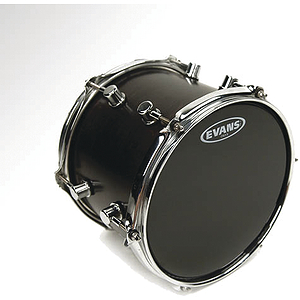 Evans ONYX 2-ply Matte Black Tom Drum Batter Head - 6""