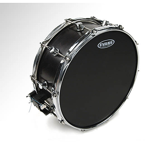 Evans Hydraulic Black Coated Snare Drum Batter Head - 14""