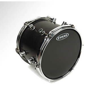 Evans ONYX 2-ply Matte Black Snare/Tom Drum Batter Head - 15""