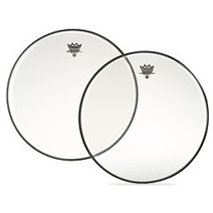 "Remo Ambassador Batter Drum Head - 15"" Clear"