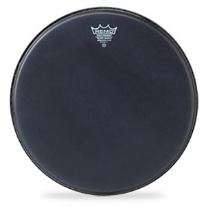 Remo Ambassador Batter Drum Head - 16&quot; Black Suede