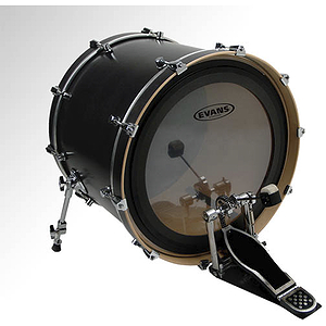 Evans EMAD Clear Bass Drum Head - 24""