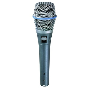 Shure BETA87C Vocal Condenser Microphone