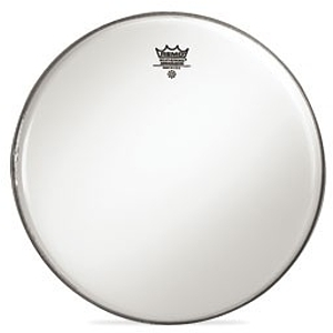 "Remo Ambassador Bass Drum Head - 24"" Smooth White"