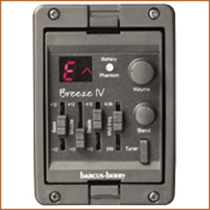 Barcus-Berry Breeze IV Multi-Sensor Acoustic Guitar Preamp System