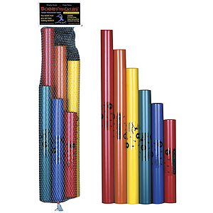 Boomwhackers Musical Tubes - C Major Pentatonic Scale, set of 6