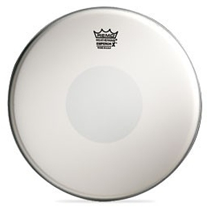 "Remo Emperor X Batter - 14"" Coated/Reverse Black Dot"