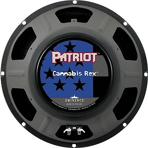 "Eminence Patriot Cannabis Rex 12"" 50w Guitar Speaker 8ohm"