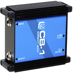 Pro Co Sound CB-1 Passive Direct Box with Ground Lift Switch
