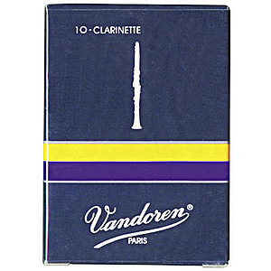 Vandoren Traditional Eb Clarinet Reeds (thickness: 3) - box of 10