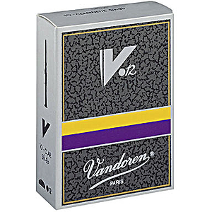 Vandoren V-12 Series Bb Clarinet Reeds (thickness: 4) - box of 10