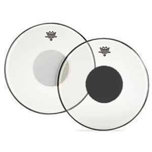 CS Black Dot Drum Head - 15