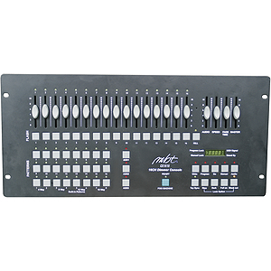 MBT Lighting CX1616 16-Channel, 16 Scene Dimming Controller
