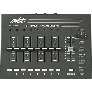 MBT CX803A 8-Channel DMX Dimming Controller