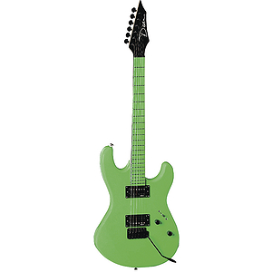 Dean Custom Zone Electric Guitar - Neon Green