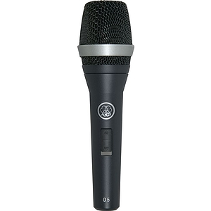 AKG D 5 S Supercardioid Dynamic Vocal Microphone with On/Off Switch