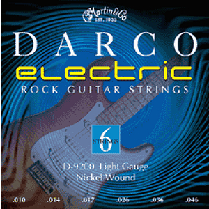 Darco Electric Guitar Strings - Light, 3 Sets