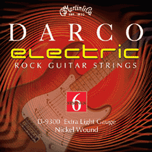 Darco Electric Guitar Strings - Extra Light, 3 Sets