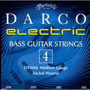 Darco Bass Guitar Strings - Long, Medium - 1 set