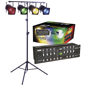 MBT Lighting DIM4 DJ Lighting Package