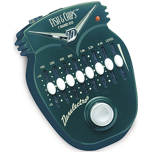 Danelectro Fish & Chips 7-band EQ Mini Effects Pedal