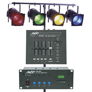 MBT Lighting DJ403 Mobile DJ Lighting System