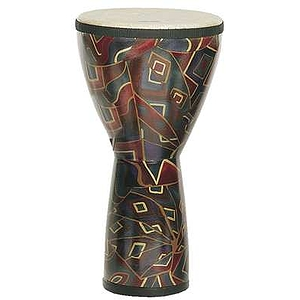 Remo Festival Djembe Drum - medium, Twinings design