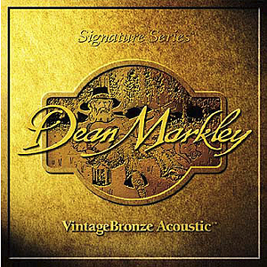 Dean Markley Bronze Acoustic Guitar Strings - Medium - 3 sets of strings
