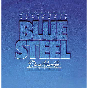 Dean Markley Blue Steel Acoustic Guitar Strings - Light - 3 sets of strings