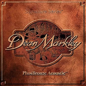Dean Markley Phosphor Bronze Acoustic Guitar Strings - Light, 3 Sets