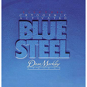 Dean Markley Blue Steel Electric Guitar Strings - Light - 3 sets of strings