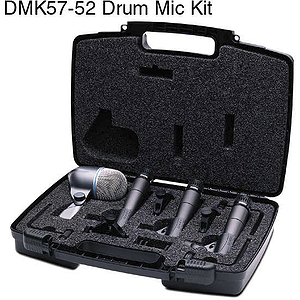 Shure DMK57-52 4-Piece Drum Mic Kit