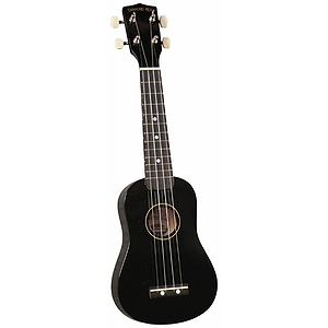 Diamond Head Soprano Ukulele - Black