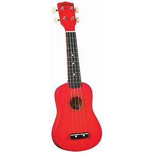 Diamond Head Soprano Ukulele - Red