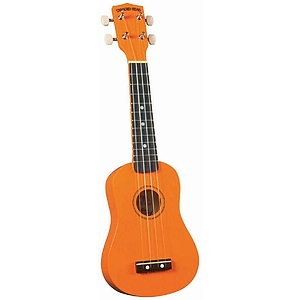 Diamond Head Soprano Ukulele - Orange