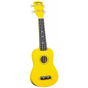 Diamond Head Soprano Ukulele - Yellow