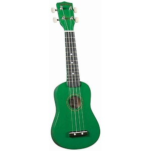Diamond Head Soprano Ukulele - Green