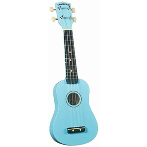 Diamond Head Soprano Ukulele - Light Blue